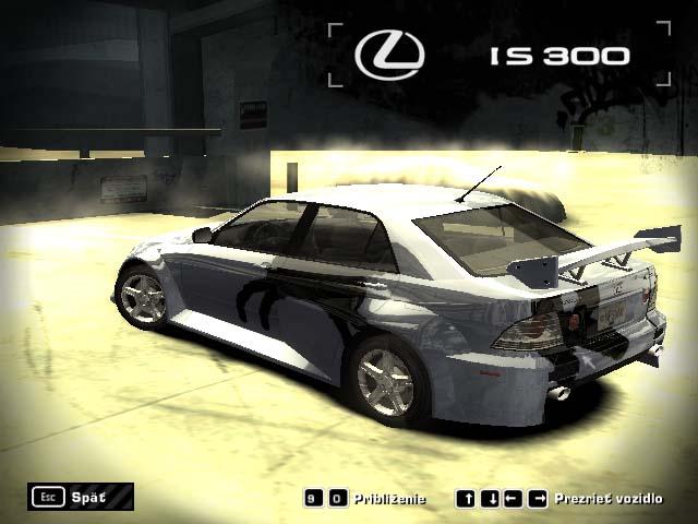 Nfsmw Lexus Is300 – mechaniker
